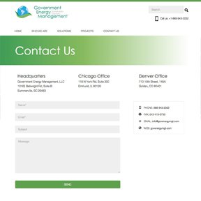 Contact Form 7 freelance Chicago Wordpress web developer erica dreisbach.