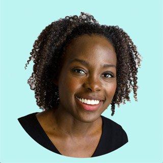 headshot of Chicago TV writer Onicia Muller   Caribbean Chicago comedy writer